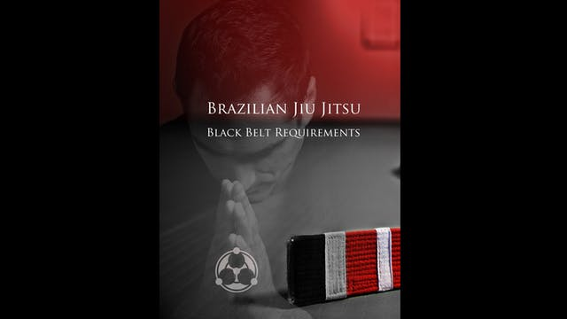 Black Belt Requirements by Roy Dean