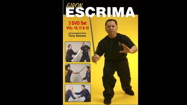 Giron Escrima (Vol 10-12) by Tony Somera