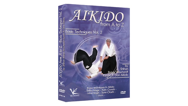 Aikido from A to Z Basic Techniques Vol 2