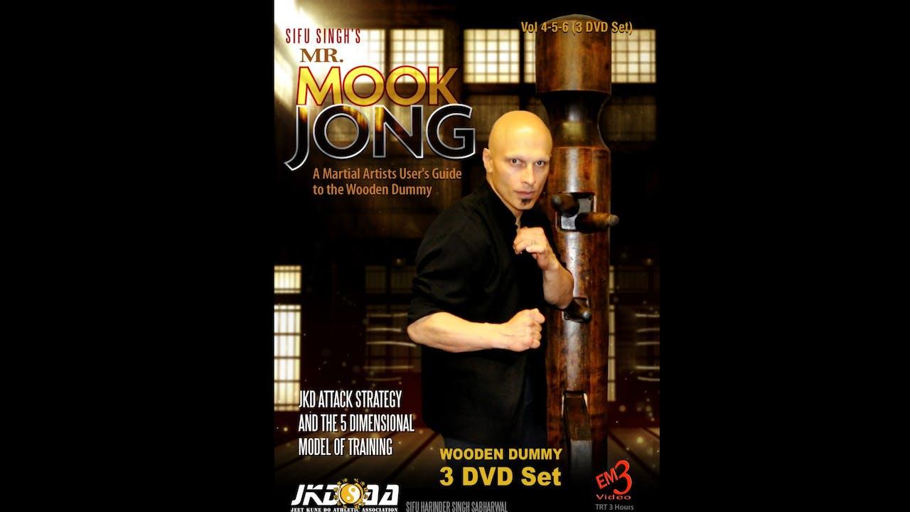 Mr Mook Jong Wooden Dummy 4-6 Harinder Sabharwal