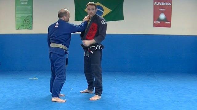 Invincibility Submission Defense Part 1 by Stephen Whittier