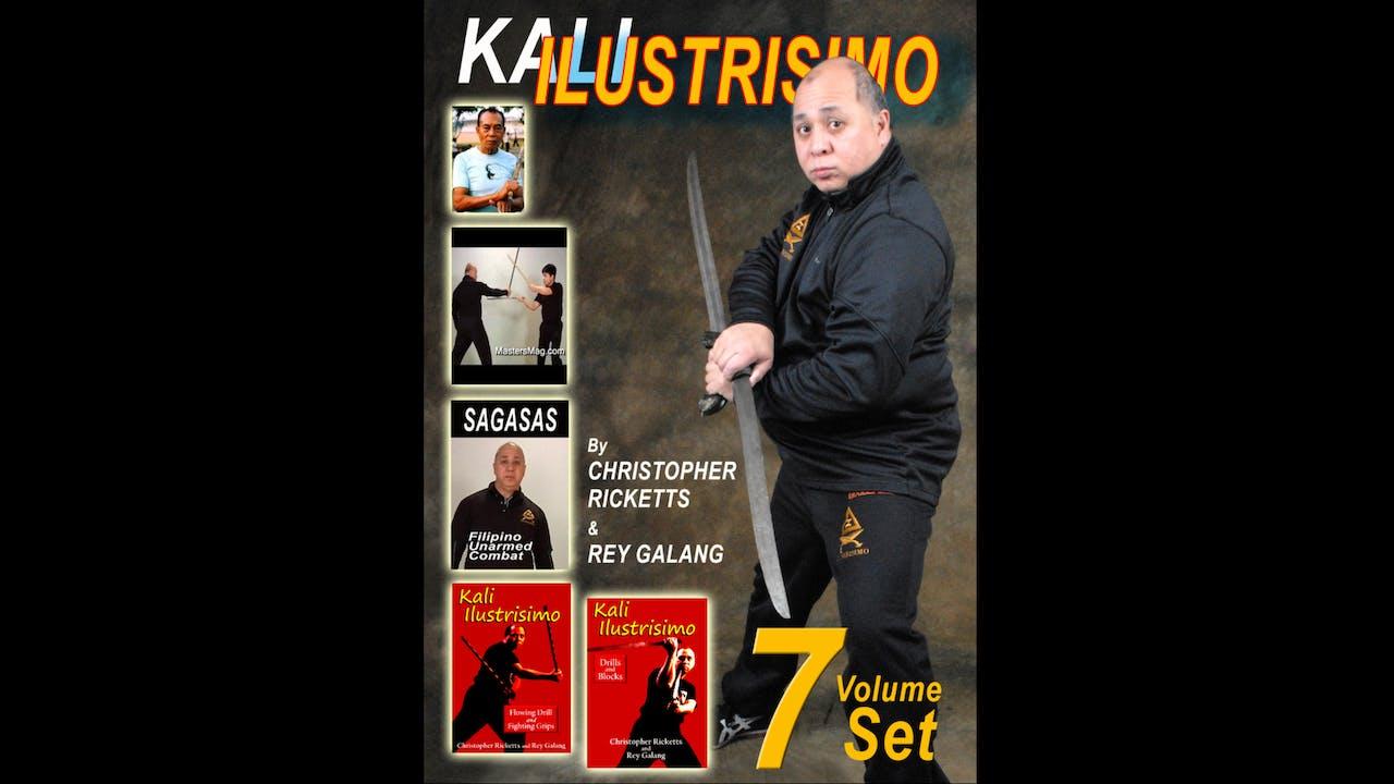 Kali Ilustrisimo 7 Vol Series Christopher Ricketts