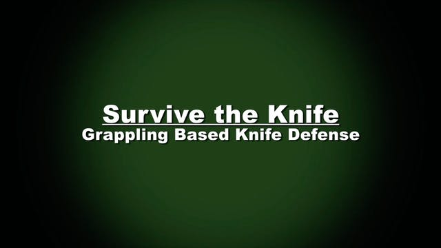 Bjorn Friedrich Survive the Knife 1