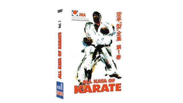 JKA Karate All Kata of Karate Vol 1