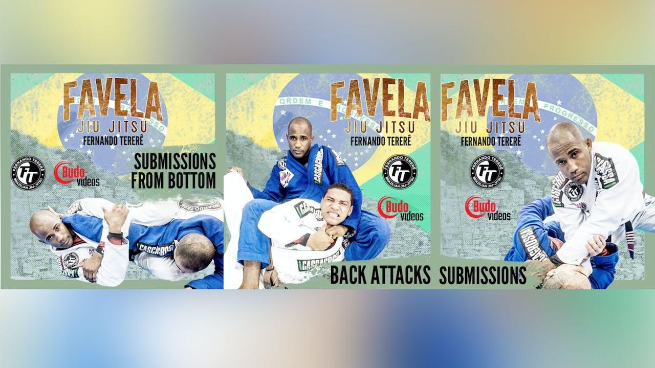 ファベーラ柔術 サブミッション BY フェルナンド・テレレ Vol. 4 - 6