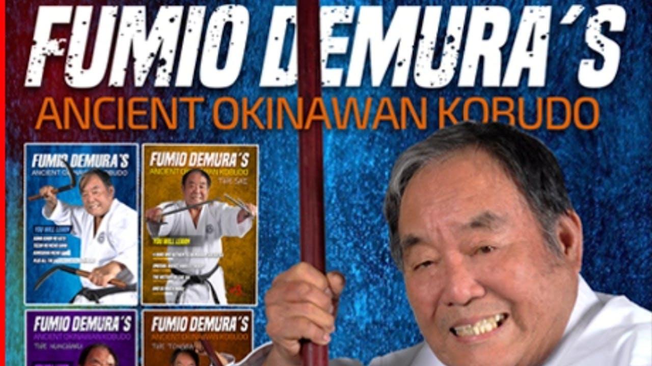 Okinawan Kobudo 11 Vol Series by Fumio Demura