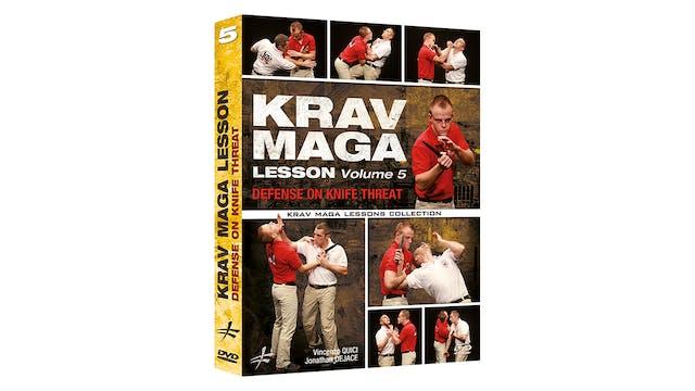 Krav Maga Lesson 5 Knife Defense