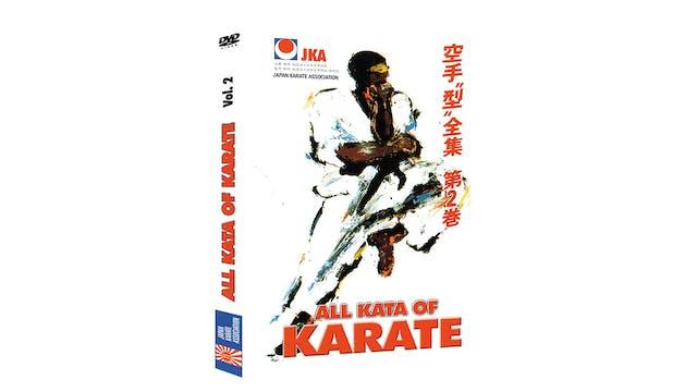 JKA Karate All Kata of Karate Vol 2