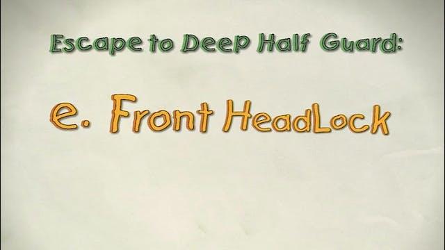 Vol 1e. Front Headlock