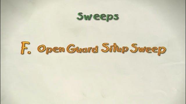 Vol 3 f. Open Guard Sit up Sweep