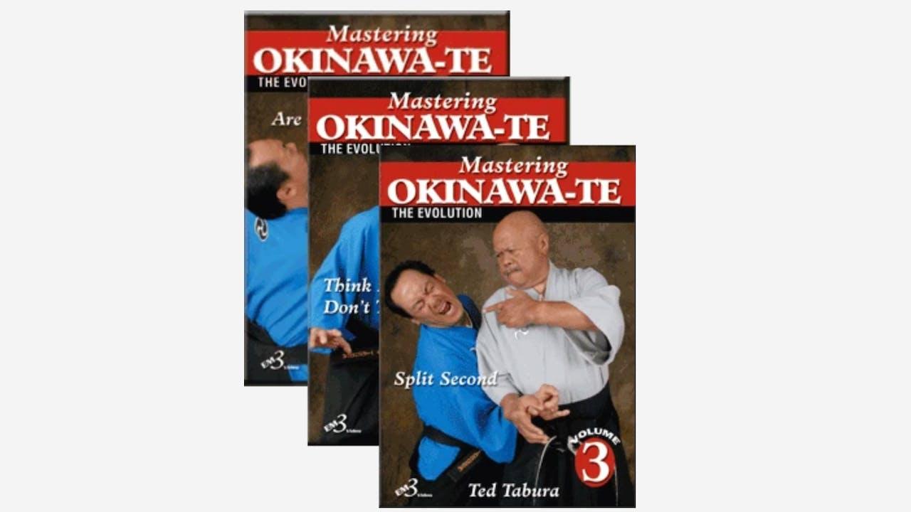 Mastering Okinawa-Te 3 Vol Series by Ted Tabura