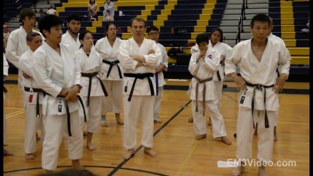 3 Mikio Yahara 1st USA Karate Seminar