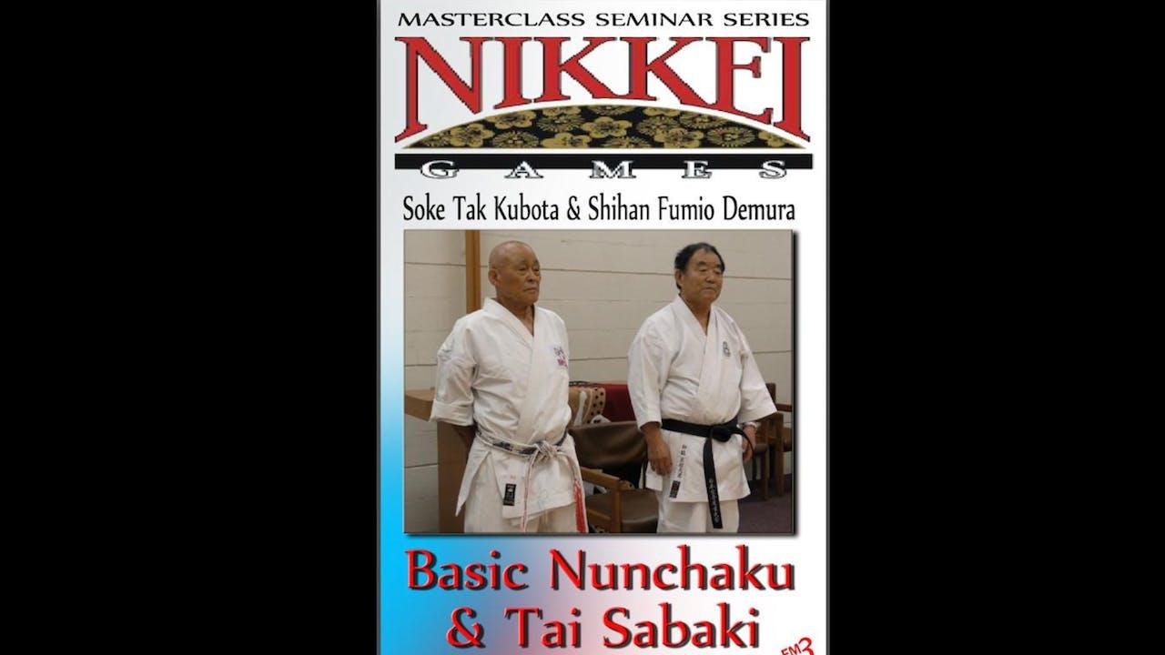 Tak Kubota & Fumio Demura Nikkei Games Seminar