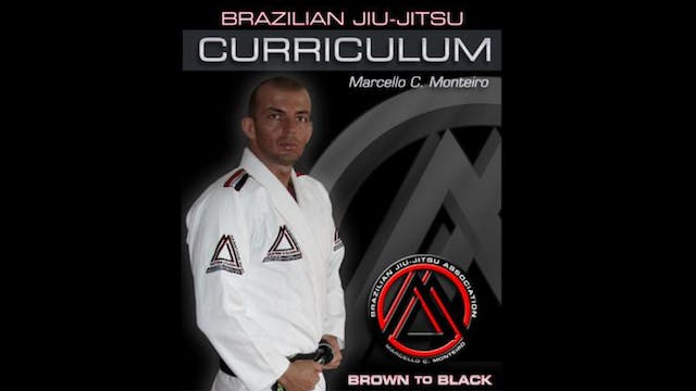 BJJ Curriculum Brown to Black by Marcello Monteiro