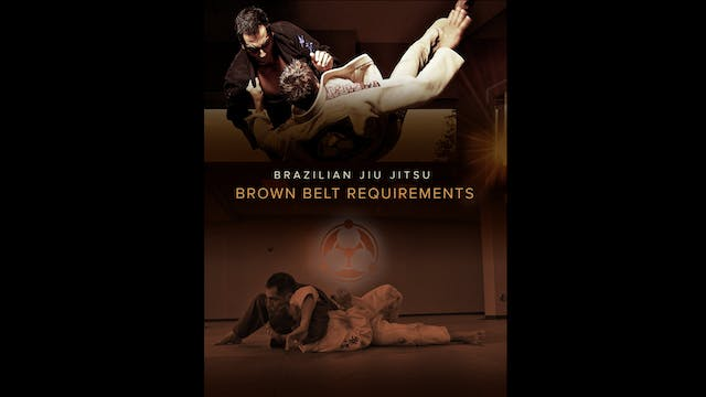 Brown Belt Requirements by Roy Dean