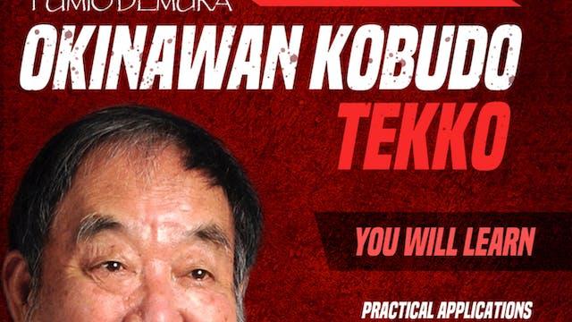 Okinawan Kobudo: Tekko by Fumio Demura