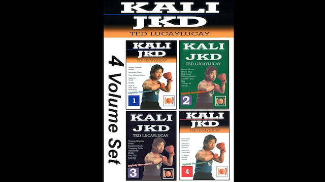 Kali JKD 4 Vol Course by Ted Lucaylucay