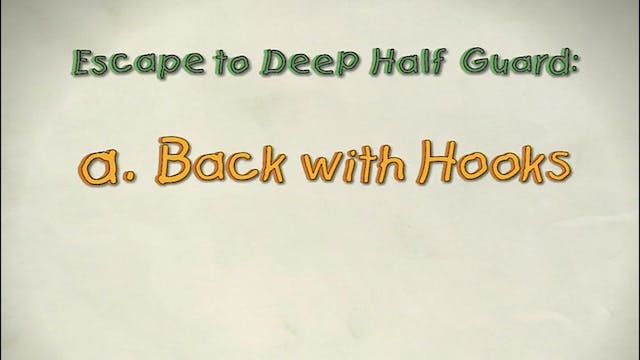 Vol 1a. Back with and without hooks