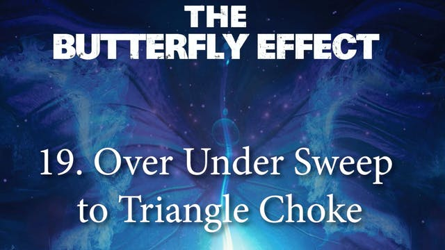 19 Over Under Sweep to Triangle - Butterly Effect