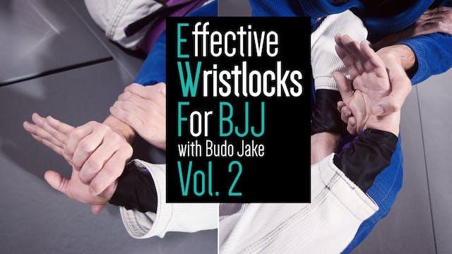 BJJ で有効なリストロック VOL. 2 BY ブドー ジェイク