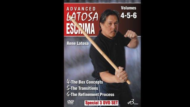 Advanced Latosa Escrima (Vol 4-6) by Rene Latosa