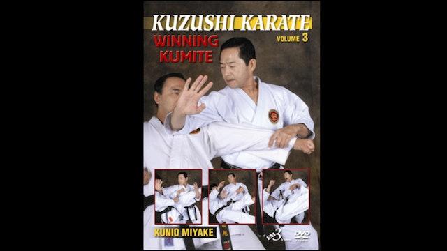 Winning Kumite 3 Kuzushi by Kunio Miyake