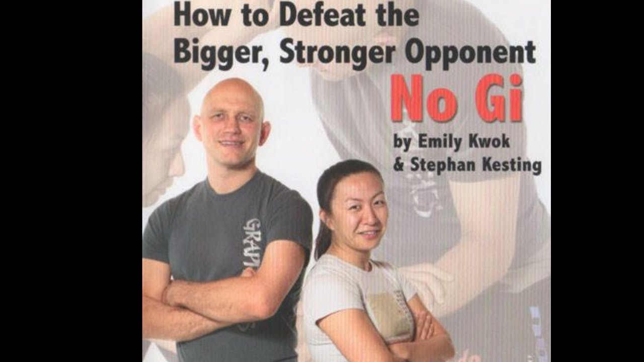 How to Defeat the Bigger Stronger Opponent in Nogi