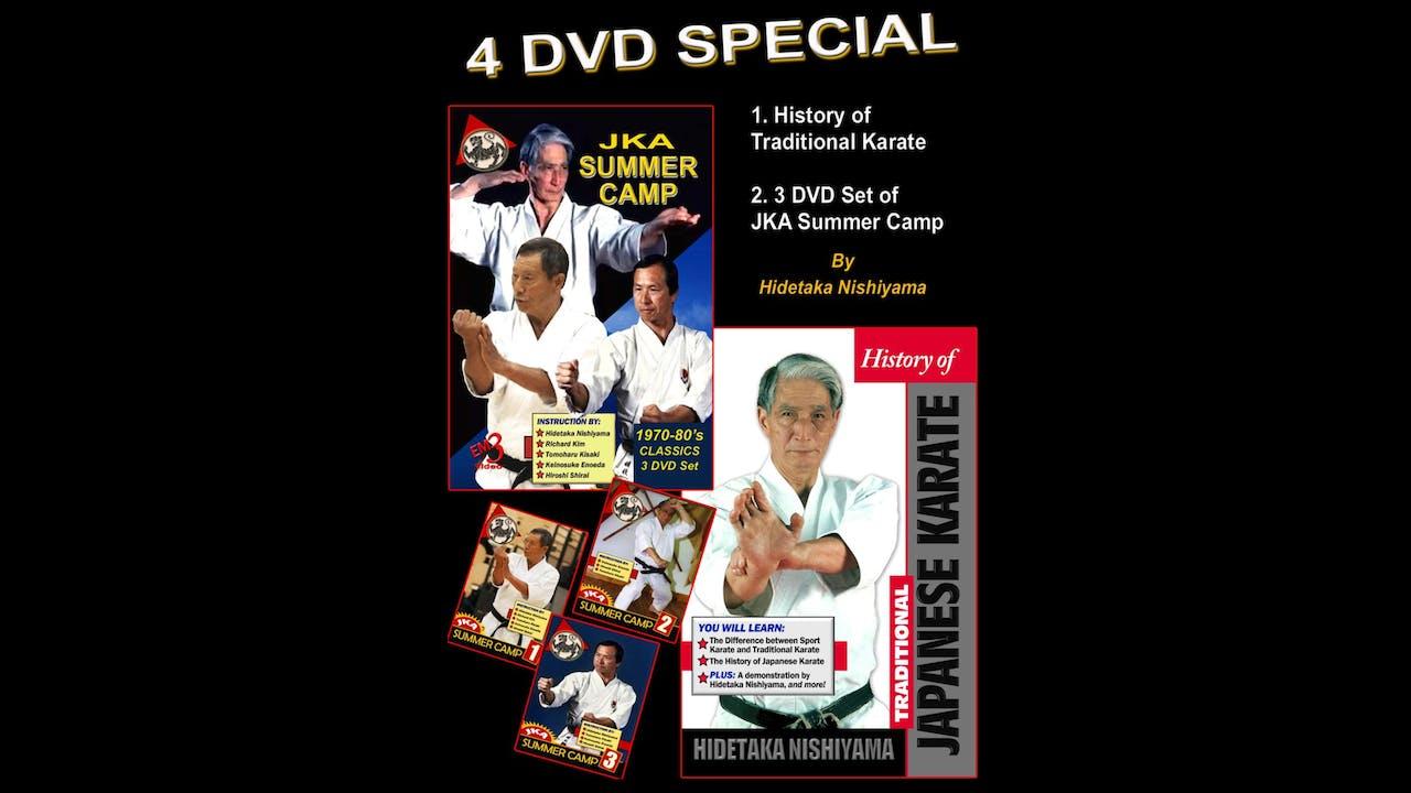 History of Karate & Summer Camp Hidetaka Nishiyama