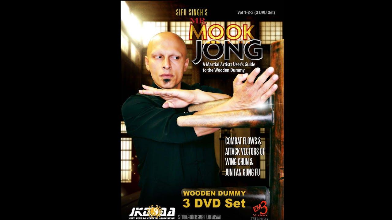 Mr Mook Jong Wooden Dummy 1-3 Harinder Sabharwal