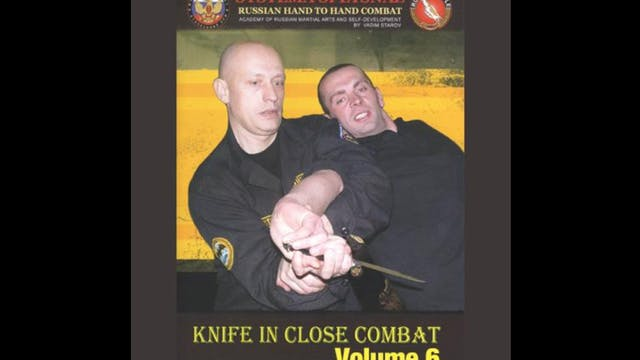 Systema Spetsnaz 6 Knife in Close Combat
