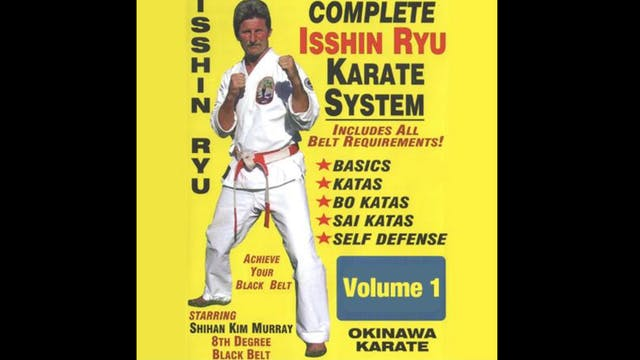 Complete Okinawa Isshin Ryu Karate System
