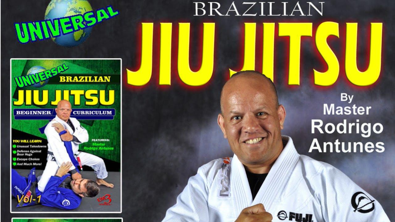 Universal BJJ 4 Vol Series by Rodrigo Antunes