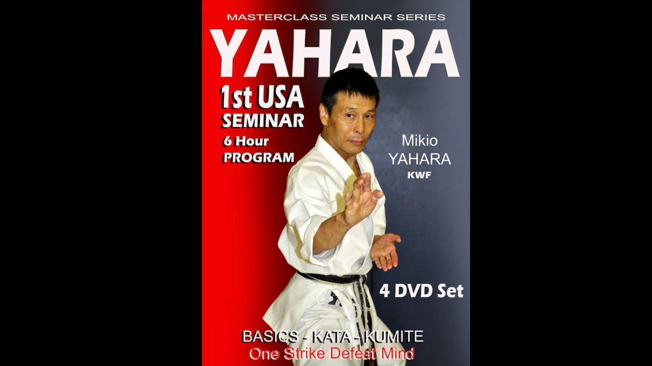 Mikio Yahara 1st USA Karate Seminar