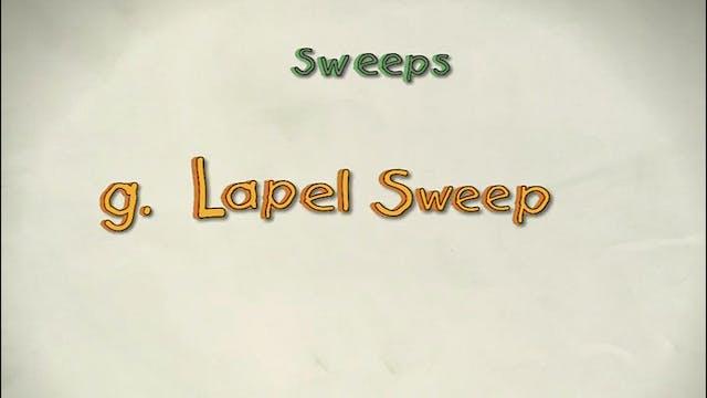 Vol 3 g. Lapel  Sweep