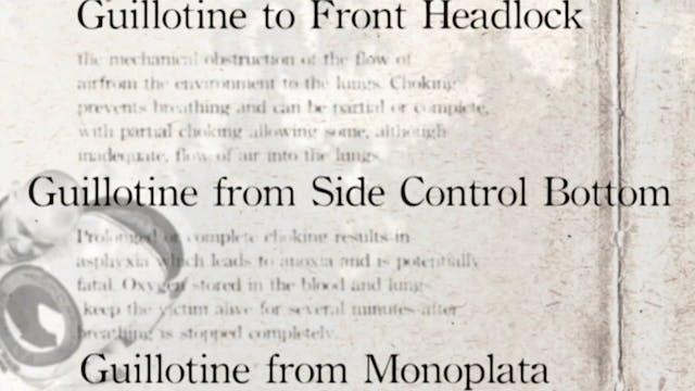 3 Guillotine to Side Control Darcepedia Japanese Vol 2
