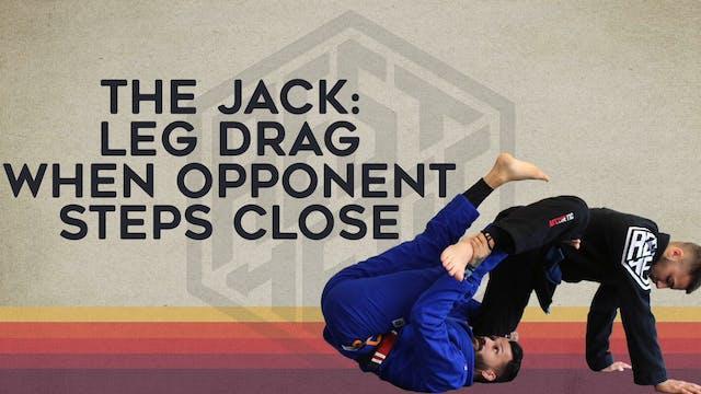 25. Leg Drag When Opponent Hides Leg-Caderinha