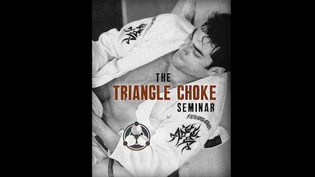 Triangle Choke Seminar by Roy Dean