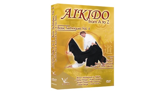 Aikido from A to Z Basic Techniques Vol 4