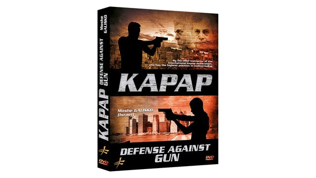 Kapap Krav Maga Defense Against Gun Moshe Galisko