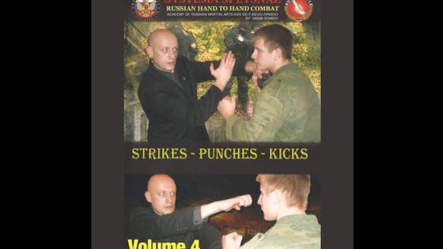 Systema Spetsnaz 4 Strikes - Punches & Kicks