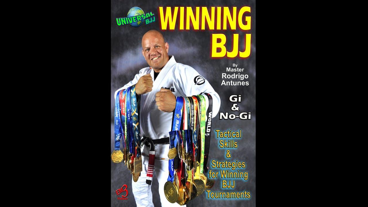 BJJ Tournament Skills & Strategies Rodrigo Antunes