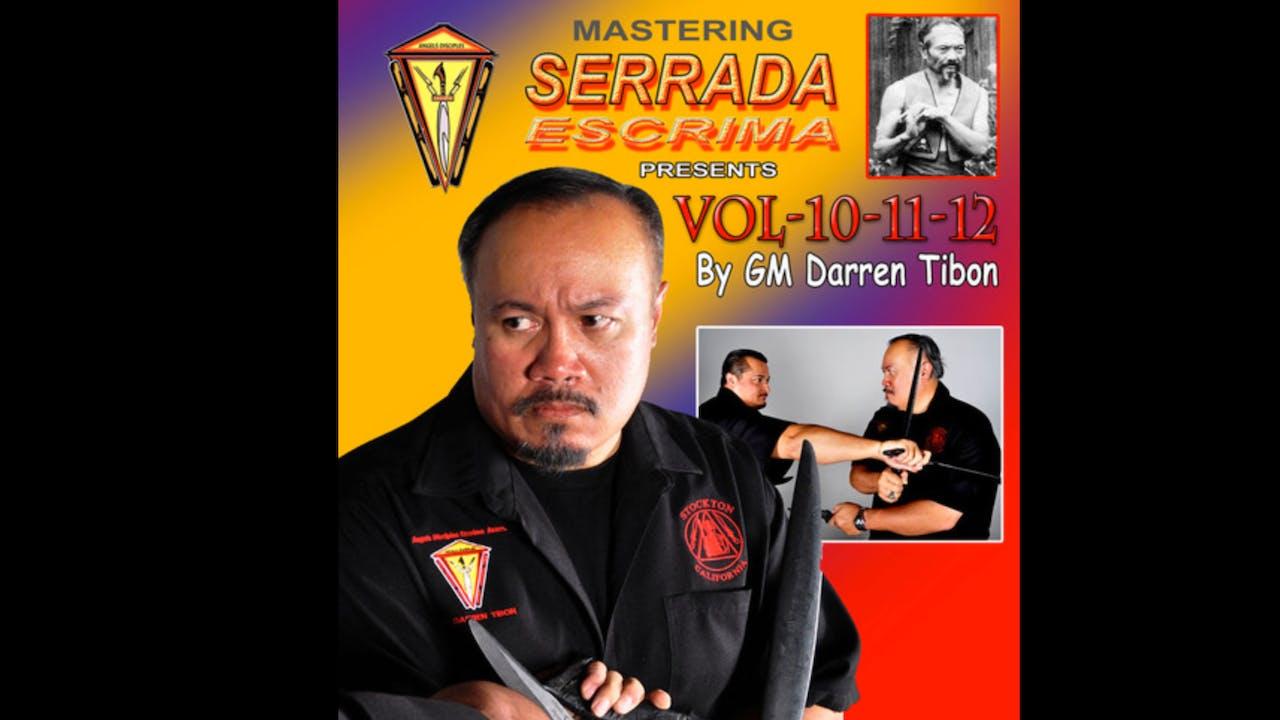 Mastering Serrada Escrima Vol 10-12 Darren Tibon