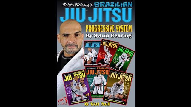 Progressive BJJ System 6 Vol Series Sylvio Behring