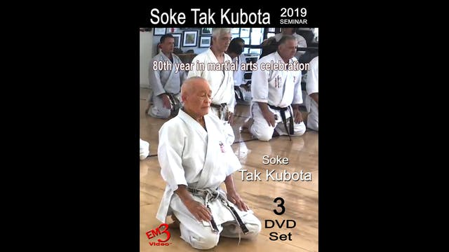 Tak Kubota 2019 Seminar Kata, Kumite & Kubotan