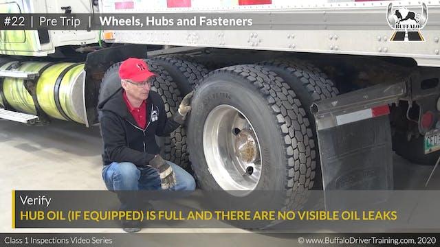 22. Pre Trip - Wheels, Hubs and Faste...
