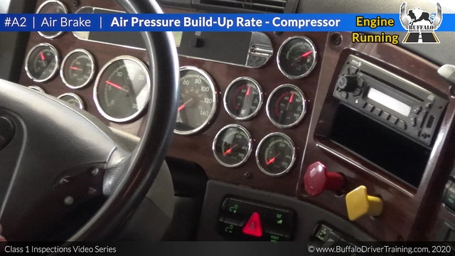 A2. Air Pressure Build-Up Rate - Compressor