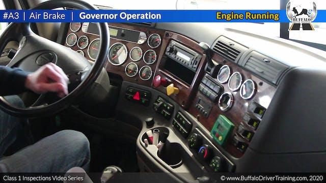A3. Air Brake - Governor Operation