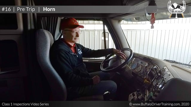 16. Pre Trip - Horn