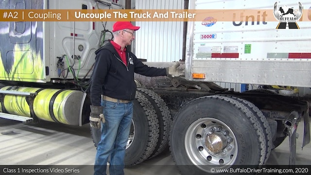 C2. Coupling - Uncouple The Truck And Trailer