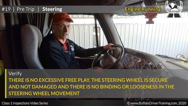 19. Pre Trip - Steering
